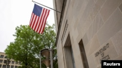 美国司法部大楼。(资料照片)