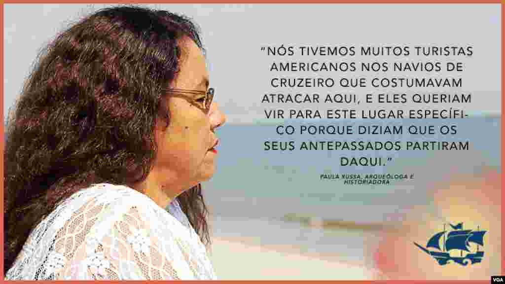 Paula Russa, autora e historiadora angolana