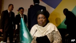 Nkosazana Dlamini-Zuma, atwara iryo Ishirahamwe ry'Ubumwe bwa Afurika