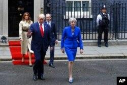 رهبران دو کشور روز سه شنبه در دفتر نخست وزیر بریتانیا دیدار کردند.