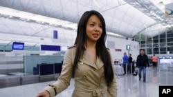 林耶凡在香港國際機場