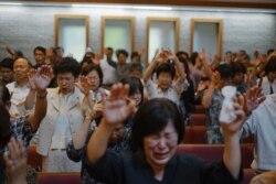 [뉴스풍경 오디오] 워싱턴서 북한 주민 위한 '통곡기도회' 열려