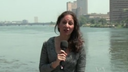 Video of VOA's Sharon Behn in Cairo