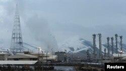 伊朗德黑蘭西南190公里處的阿拉克核能設施。(資料照片)