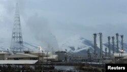 Nhà máy điện hạt nhân Arak của Iran, nằm cách thủ đô Tehran 190 km về hướng tây nam