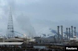 伊朗德黑兰西南190公里处的阿拉克核能设施。(资料照片)