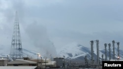 FILE - A general view of the Arak nuclear power plant, 190 km southwest of Tehran, Jan. 15, 2011.