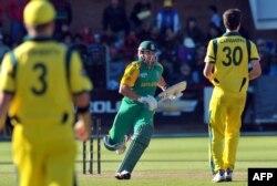 آسٹریلیا اور جنوبی افریقہ کے درمیان جوہانسبرگ میں کھیلا گیا میچ اب تک کا ہائی اسکورنگ میچ تھا۔ (فائل فوٹو)