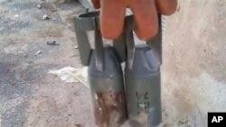 Малокалиберные бомбы кассетного боеприпаса.