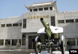 丹东的抗美援朝纪念馆