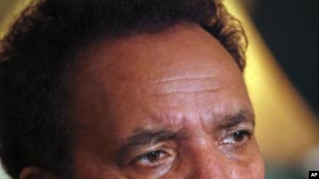 Pakistan's Interior Minister Rehman Malik attends an interview with Reuters in Islamabad, September 22, 2011.