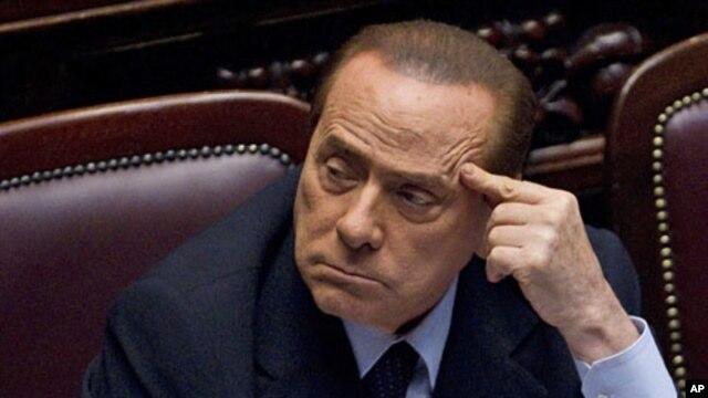 Italian Prime Minister Silvio Berlusconi (File)