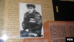 劳改营中的索尔仁尼琴(美国之音白桦拍摄)
