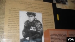 在前蘇聯勞改營內的索爾仁尼琴(美國之音白樺拍攝)
