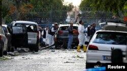 عکس از آرشیف، محل انفجار امروز به دلایل امنیتی به روی رسانهها مسدود است