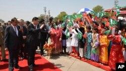 په ۲۰۱۵م کال کې پاکستان ته د چین د ولسمشر شي جینپینګ سفر.