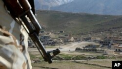 Pripadnik kurdskih snaga