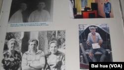 俄罗斯萨兰斯克市博物馆展出的古拉格集中营受迫害者照片