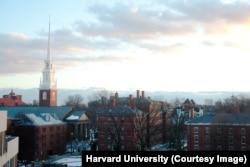 哈佛大学校园(哈佛大学新闻办拍摄)