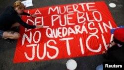 La violación de derechos humanos por parte del gobierno de Maduro ha sido denunciada internacionalmente.