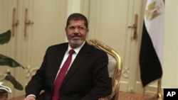Predsednik Egipta Mohamed Morsi