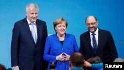 """Les médias allemand ont fait part d'un """"accord sur un contrat de coalition"""""""