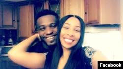 Prince Gbohoutou et sa femme. (Facebook/Prince Gbohoutou)