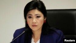 ထုိင္း၀န္ႀကီးခ်ဳပ္ Yingluck Shinawatra.