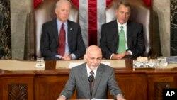آقای غنی از کمک های امریکا ستایش کرد
