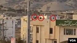 تیراندازی به معترضان از بالای دادگستری جوانرود