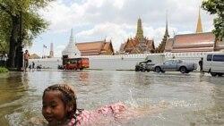 نخست وزير تايلند: هيچکس نمی تواند سيلی را که بسوی بانکوک در حرکت است مهار کند