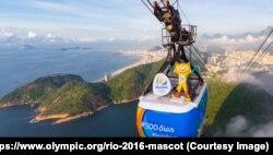 มาสก็อตประจำโอลิมปิก 2016 ที่นครริโอ เดอ จาเนโร