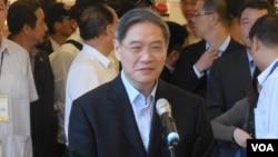 中國國台辦主任張志軍(資料圖片)