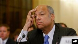 Le secrétaire à la Sécurité intérieure, Jeh Johnson (Photo AP)