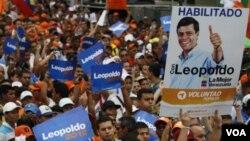 El próximo 12 de febrero la oposición elegirá un candidato único a la Presidencia.