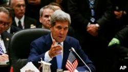Ngoại trưởng Mỹ John Kerry nói chính quyền Obama vẫn cam kết giúp đỡ khôi phục nền dân chủ Ai Cập.