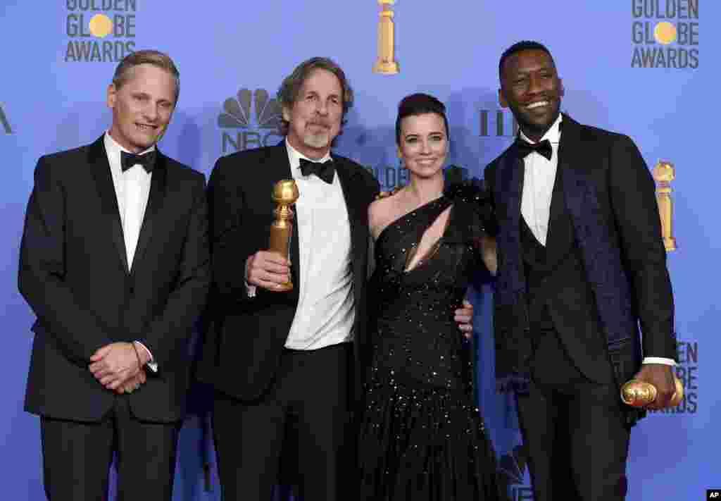 فلم 'گرین بک' نے مجموعی طور پر تین ایوارڈز اپنے نام کیے۔