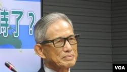 台灣前外長歐鴻鍊(美國之音張永泰拍攝)