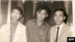 Phạm công Thiện - Thế Phong - Đinh Cường. Đà Lạt 1963 thời Thiện 22 tuổi viết Ý Thức mới trong văn nghệ và triết học