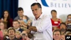En un mes, el republicano Mitt Romney redujo la diferencia de tres puntos que le llevaba Obama, según el sondeo.