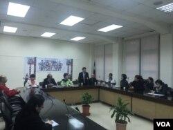 亚太宗教自由论坛创会首次会议将于2月18日在台湾桃园举行。台湾前副总统吕秀莲任本次大会主席。 (萧洵 摄影)