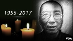 លោក Liu Xiaobo អ្នកប្រឆាំងចិននិងជាជ័យលាភីណូបែលសន្តិភាព ដែលបានស្លាប់ក្នុងអាយុ៦២ឆ្នាំ។