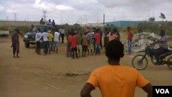 Demolições em Viana