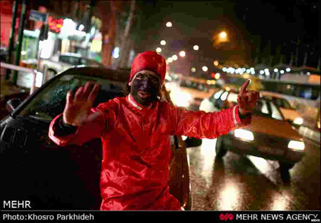 حاجی فیروز میهمان خیابان هاست. تهران
