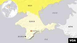 克里米亚地理位置