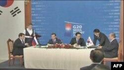 Căng thẳng leo thang giữa lúc các nhà lãnh đạo các nước khối G-20 đến Nam Triều Tiên để dự hội nghị thượng đỉnh trong 2 ngày