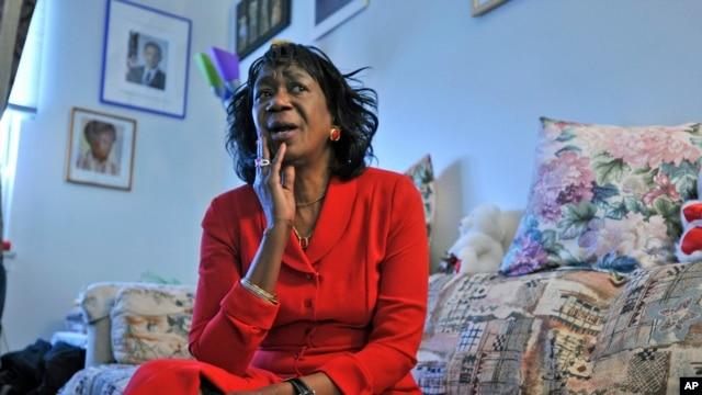 FILE - President Barack Obama's aunt Zeituni Onyango.
