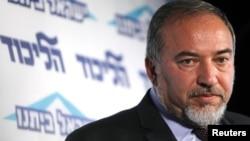 مستعفی ہونے والے اسرائیلی وزیر خارجہ لیبرمین(فائل)