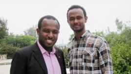 Ethiopian-Global-Initiative members Samuel Gebru and Fitsum Birhane