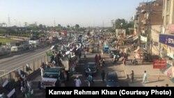 لاہور میں فلاح پشتون کی ریلی۔ 21 اپریل 2018